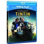 Tintin dvd Filmer Tintin: Secret Of The Unicorn - Triple Play (Blu-ray + DVD + Digital Copy)[Region Free]